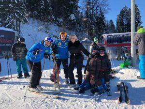 Family Ski Lessons in Poiana Brasov