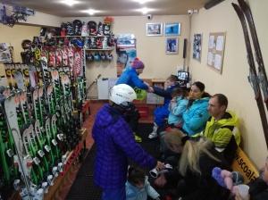 Ski Rental Center in Poiana Brasov
