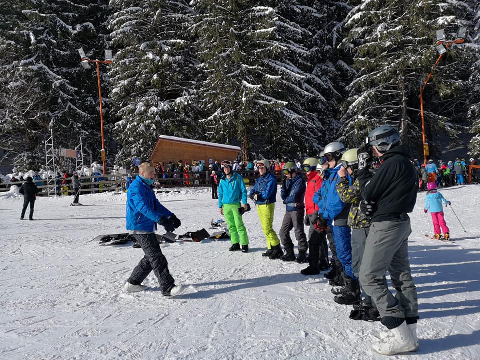 Snowboard courses in Poiana Brasov