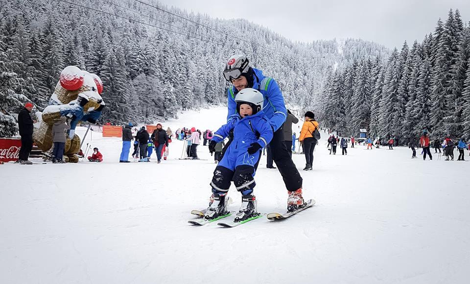 Instructor de schi pentru copii si adulti in Poiana Brasov