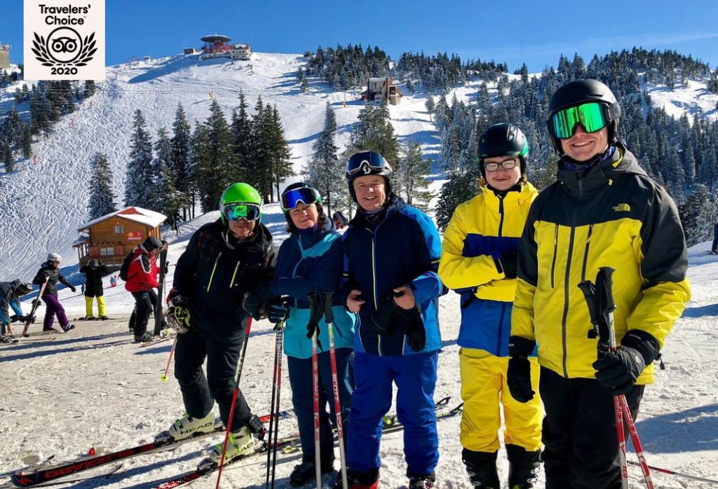 Janin ski instructor at R&J ski school poiana brasov