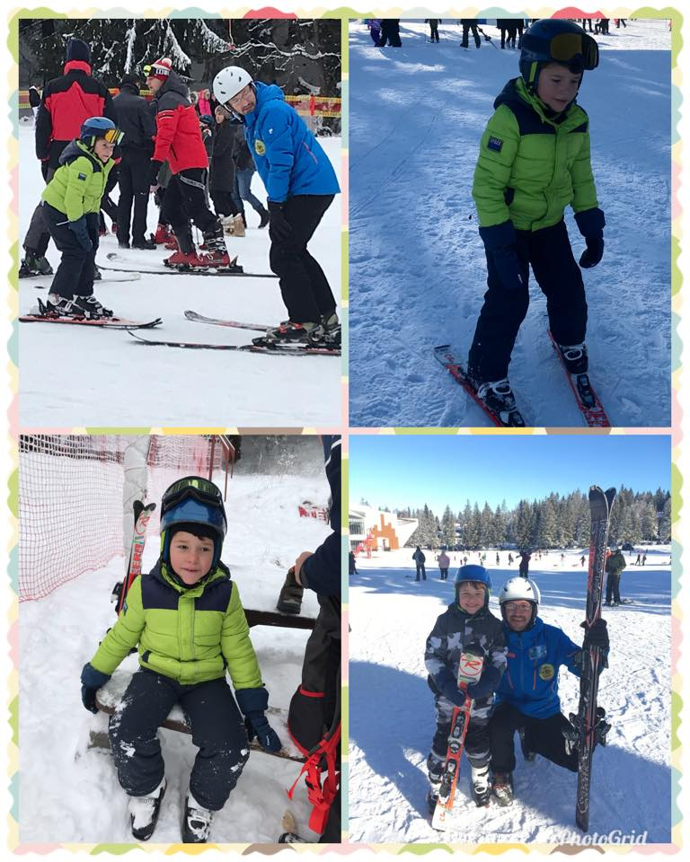 ski fun for a little one in Poiana Brasov only with R&J Ski School Poiana Brasov